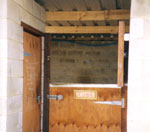 Stables with lockable tack rooms